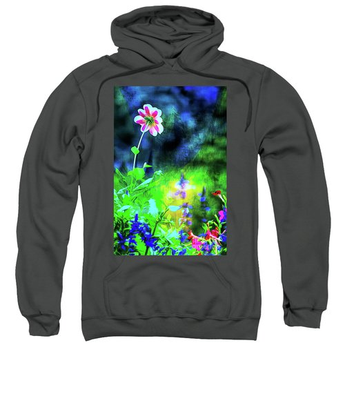 Underwater Garden Abstract Sweatshirt