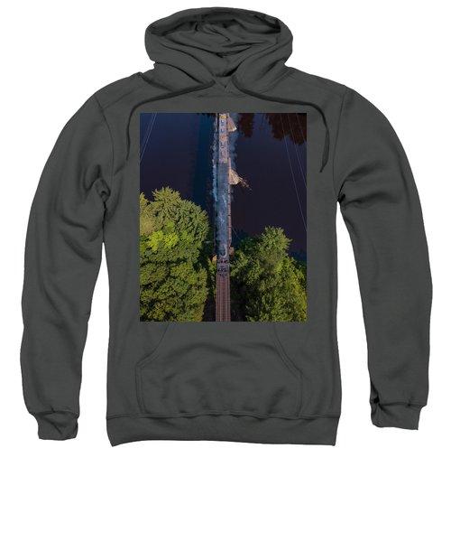 Union Pacific #4014 Big Boy Crossing A Bridge Sweatshirt