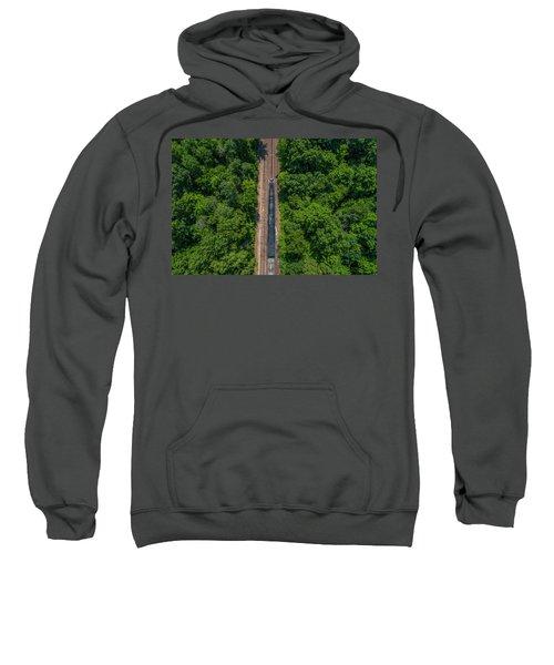Union Pacific Big Boy Between The Trees Sweatshirt