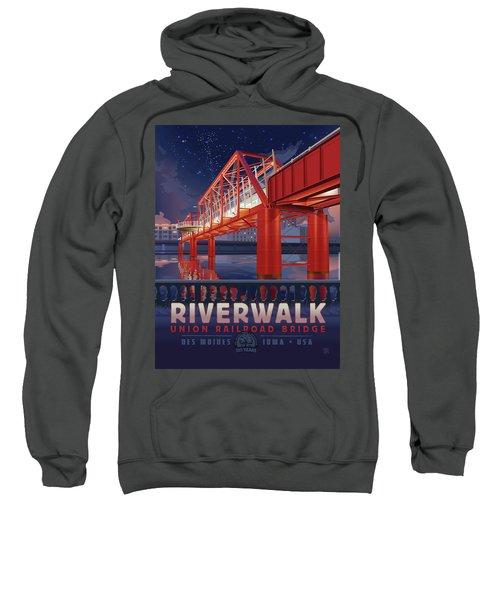 Union Railroad Bridge - Riverwalk Sweatshirt