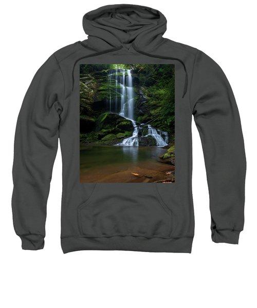 Upper Catawba Falls, North Carolina Sweatshirt