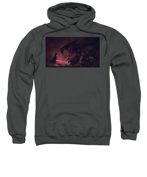 Vader Vs Aliens 1 Sweatshirt