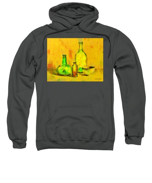 Various Ancient Bottles - Da Sweatshirt