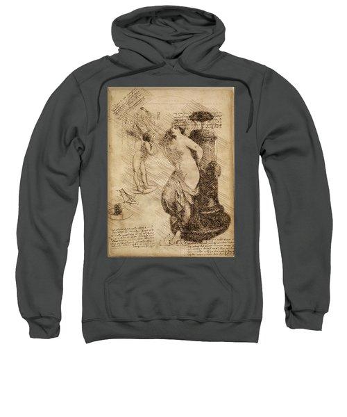 Venus Weigh Cupid Sweatshirt