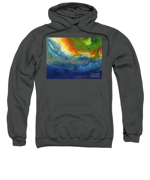 View From Space Sweatshirt
