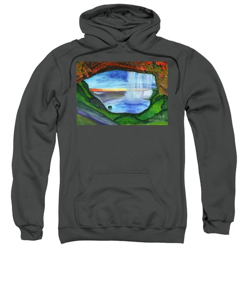 View From The Cave To The Waterfall Sweatshirt