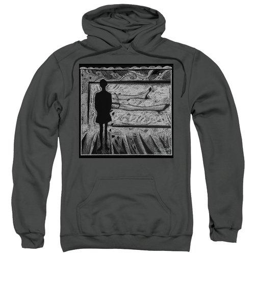 Viewing Supine Woman. Sweatshirt