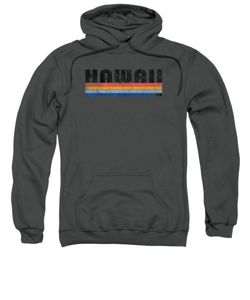 Vintage 1980s Style Hawaii T Shirt Sweatshirt