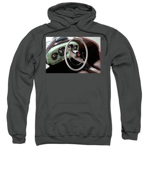 Vintage Kaiser Darrin Automobile Interior Sweatshirt