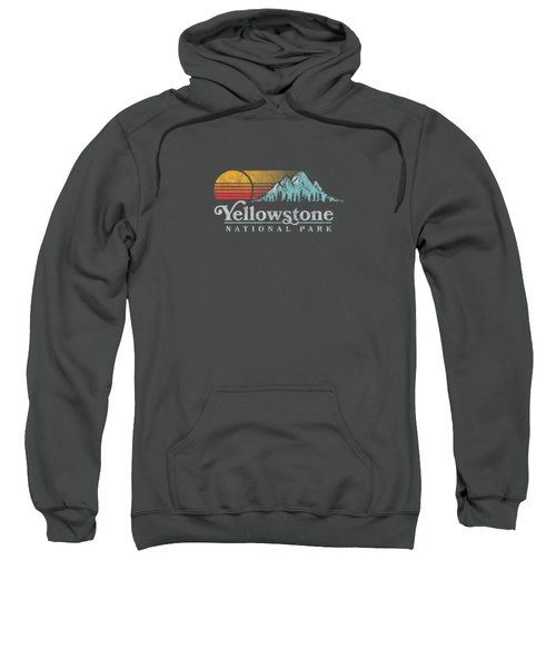 Vintage Yellowstone National Park Retro T-shirt Sweatshirt