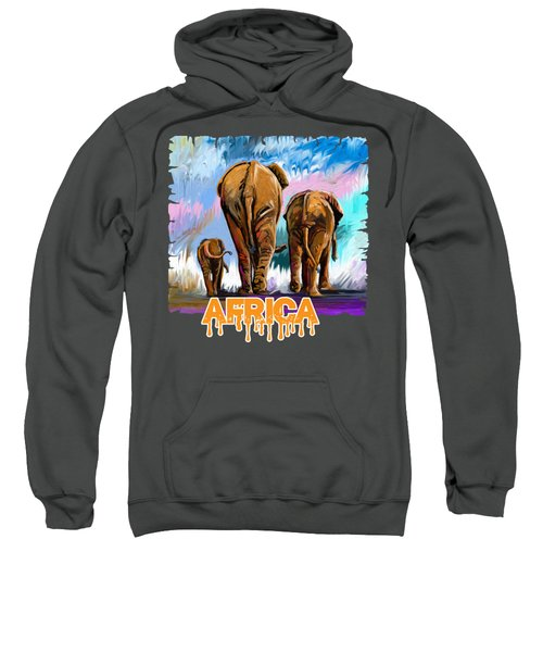 Walking Away Sweatshirt