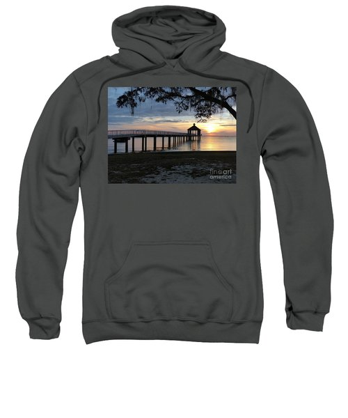 Walking Bridge To The Gazebo Sweatshirt