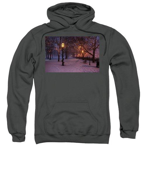 Walking The Path On Salem Ma Common Sweatshirt