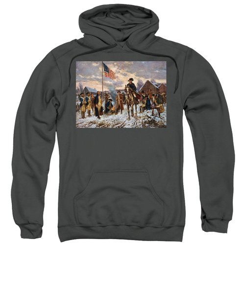 Washington At Valley Forge Sweatshirt
