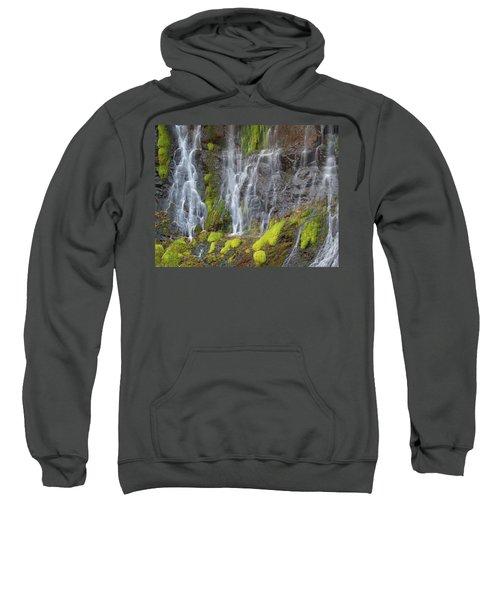 Waterfall Detail Sweatshirt