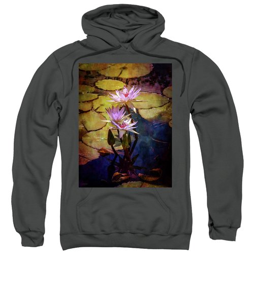 Waterlily Bouquet 2922 Idp_6 Sweatshirt