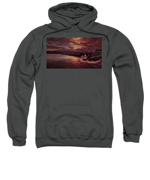 Wave At The Pier Sweatshirt