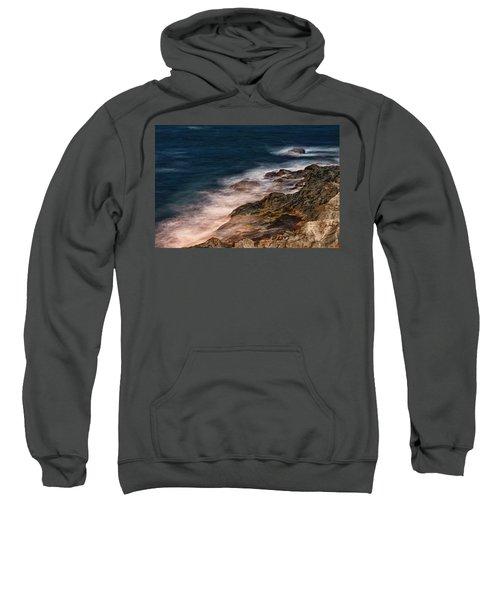 Waves And Rocks At Sozopol Town Sweatshirt