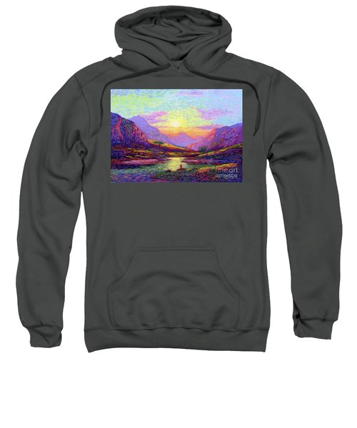 Waves Of Illumination Sweatshirt