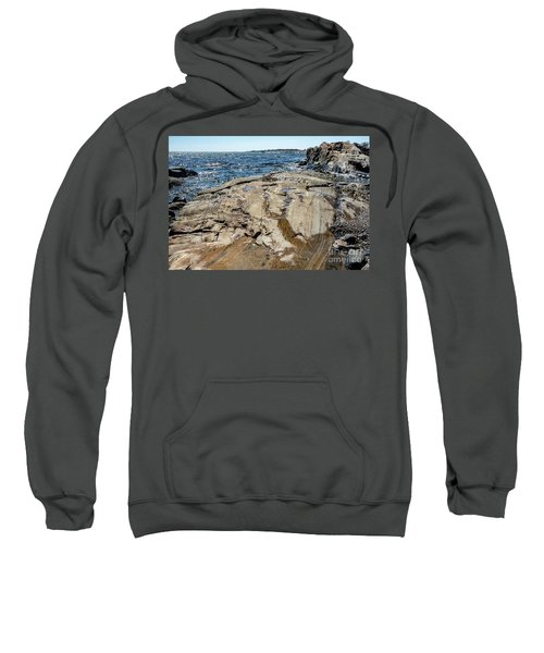 Wet Rocks Sweatshirt