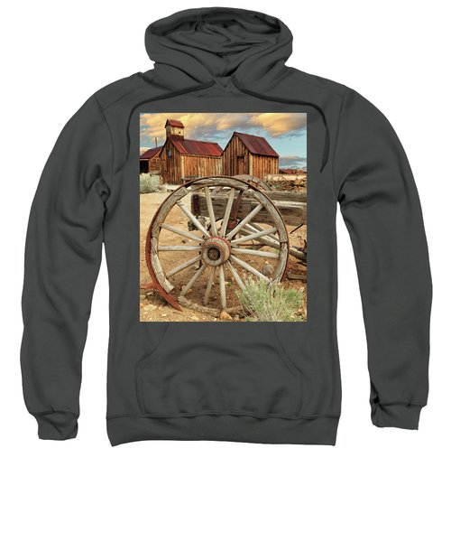 Wheels And Spokes In Color Sweatshirt