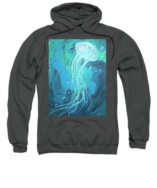 White Jellyfish Sweatshirt