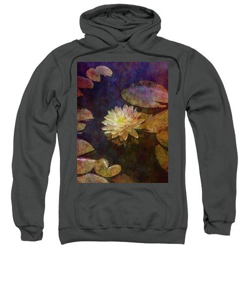 White Lotus Lily Pond 2938 Idp_2 Sweatshirt