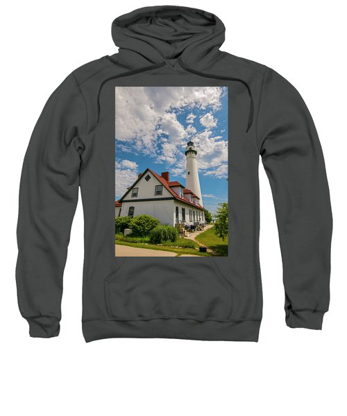 Wind Point Lighthouse No. 2 Sweatshirt