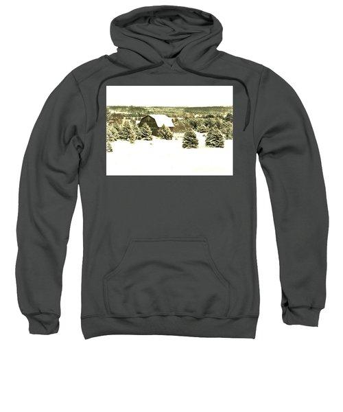 Winter Barn Sweatshirt