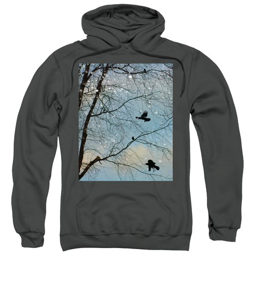 Winter Crows  Sweatshirt