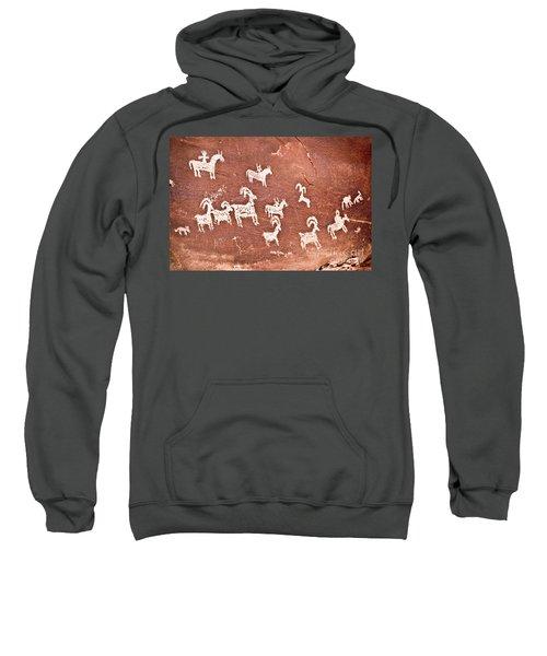 Wolfe Ranch Petroglyphs Sweatshirt