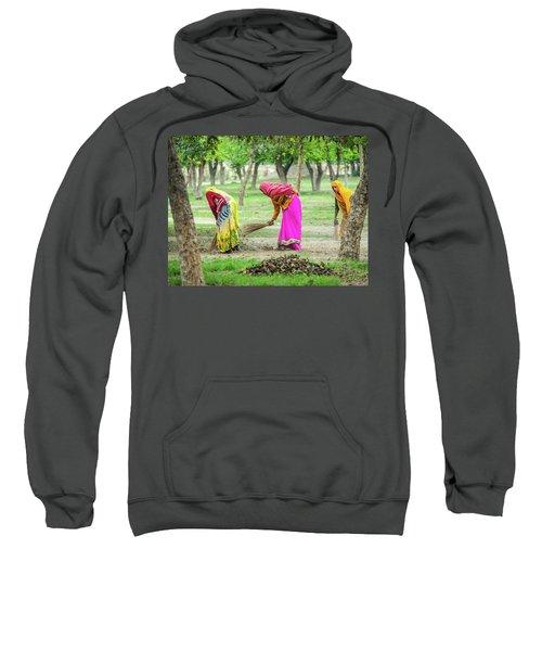 Woman In The Garden Sweatshirt