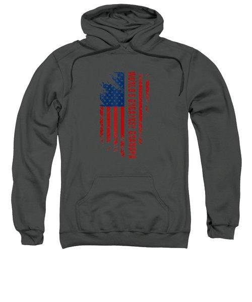 World's Greatest Grandpa American Flag Men Father's Day Gift T-shirt Sweatshirt