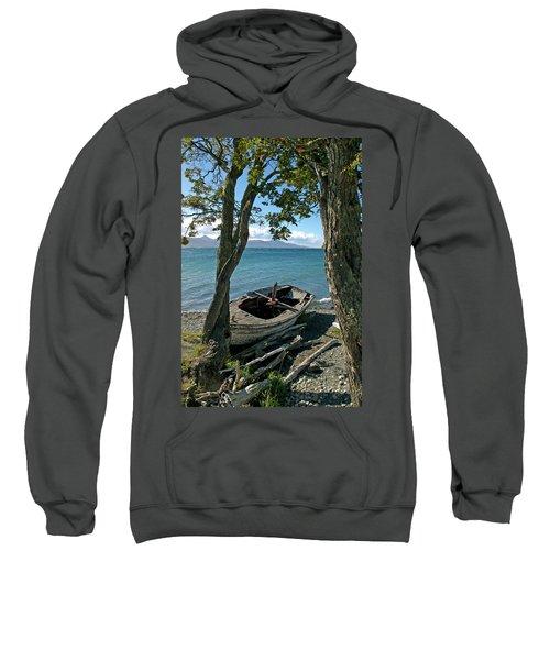 Wrecked Boat Patagonia Sweatshirt