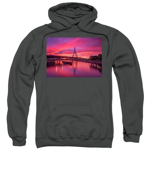 Zakim Bridge Sunset Sweatshirt