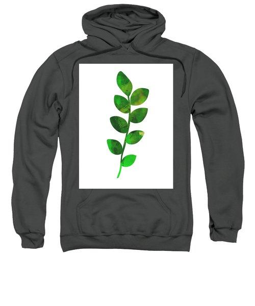 Zamioculcas Leaf Sweatshirt
