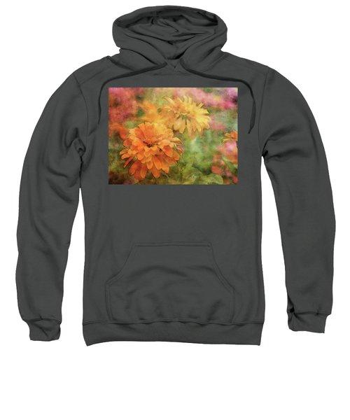 Zinnias 3063 Idp_2 Sweatshirt
