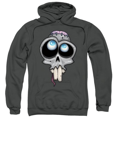 Zombie Skull Sweatshirt