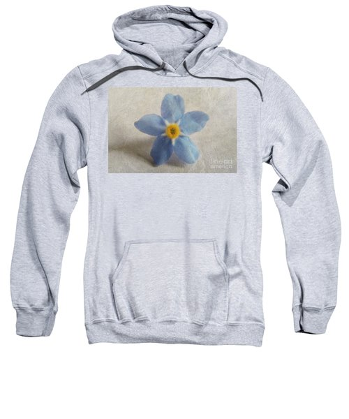 Myosotis 'forget-me-not'- Single Flower Sweatshirt