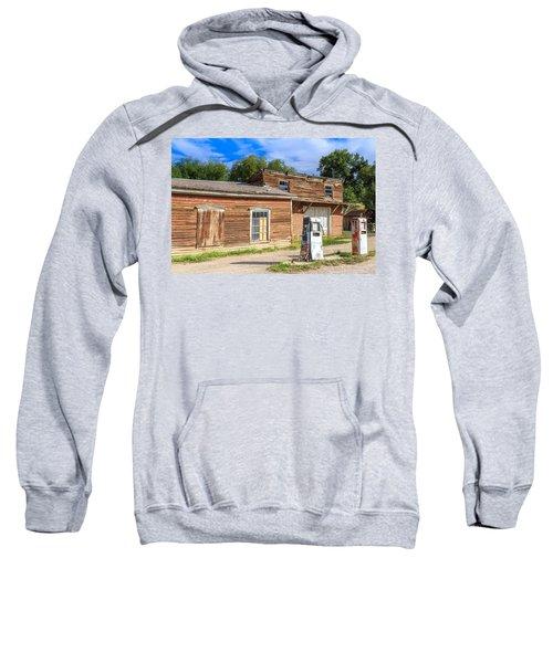Abandoned Mining Buildings Sweatshirt