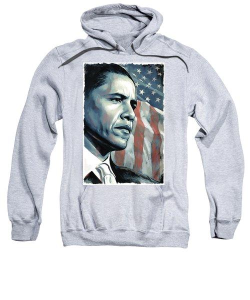 Barack Obama Artwork 2 Sweatshirt