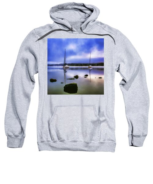 Boats On Ullswater Sweatshirt