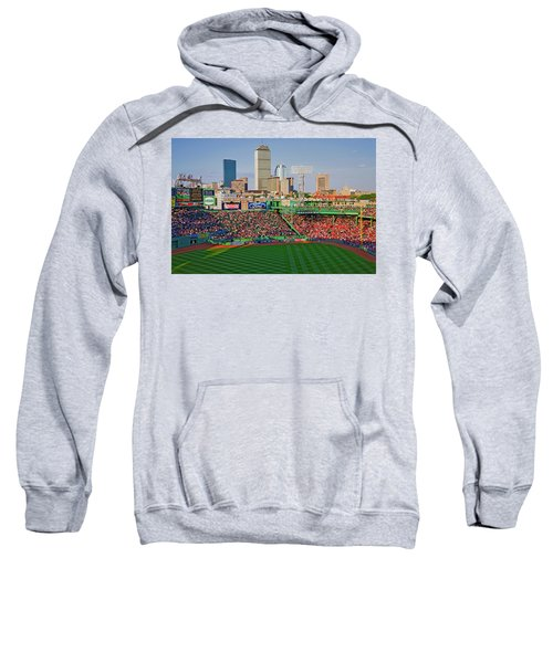 Boston Skyline With View Of Historic Sweatshirt