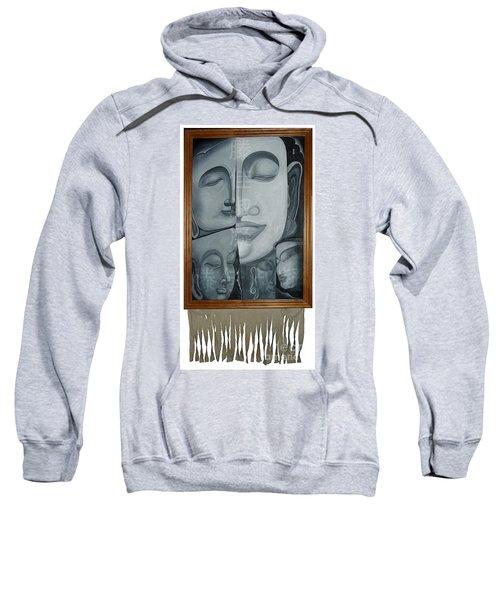 Buddish Facial Reactions Sweatshirt