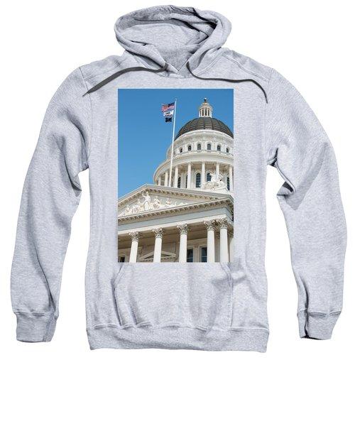 California State Capitol In Sacramento Sweatshirt