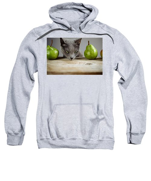 Cat And Pears Sweatshirt