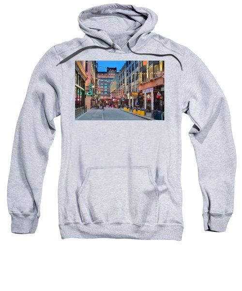East Fourth Street In Cleveland Sweatshirt