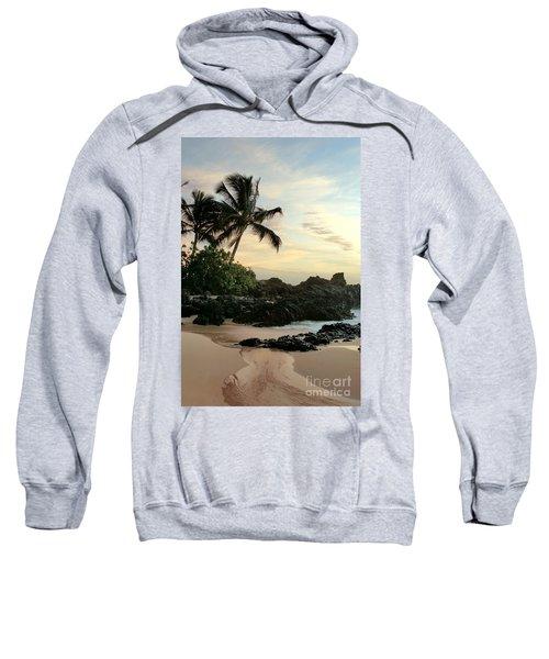 Edge Of The Sea Sweatshirt by Sharon Mau