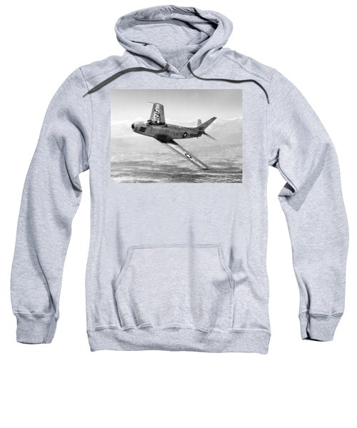F-86 Sabre, First Swept-wing Fighter Sweatshirt