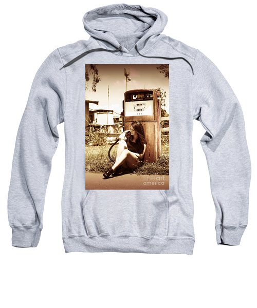 Ghost Town Named Oil And Gas Sweatshirt